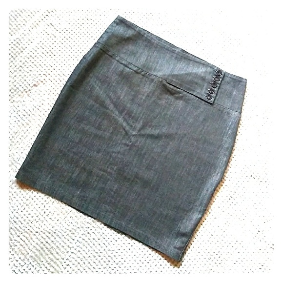 1120c4afb Lime Skirts   Sale Lush Chambray Skirt   Poshmark